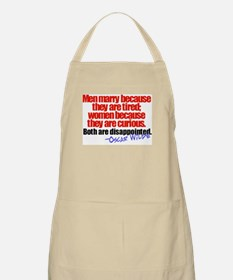 Wilde Disappointment BBQ Apron