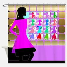 Fashion Girl Shower Curtain