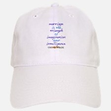 Wilde marriage Baseball Baseball Cap