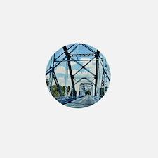 Blue Bridge 3 Mini Button
