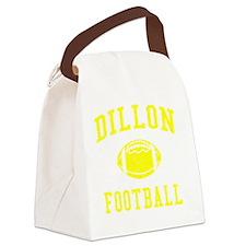 Dillon Football Canvas Lunch Bag