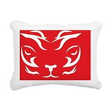 TigerLogo3 Rectangular Canvas Pillow