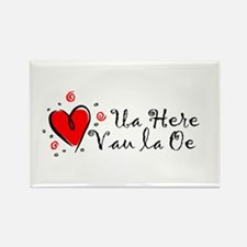"""""""I Love You"""" [Tahitian] Rectangle Magnet (10 pack)"""
