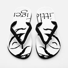 LittleTigerLogo4 Flip Flops