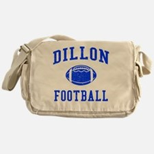 Dillon Football Messenger Bag