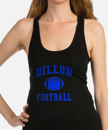 Dillon Football Racerback Tank Top