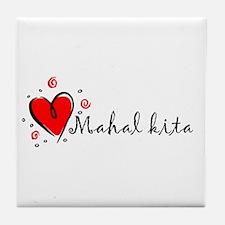 """""""I Love You"""" [Tagalog] Tile Coaster"""