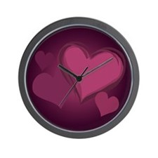 Valentine's Day Wall Clock Love Hearts Gifts