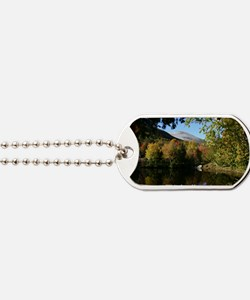 Whiteface P postcard Dog Tags