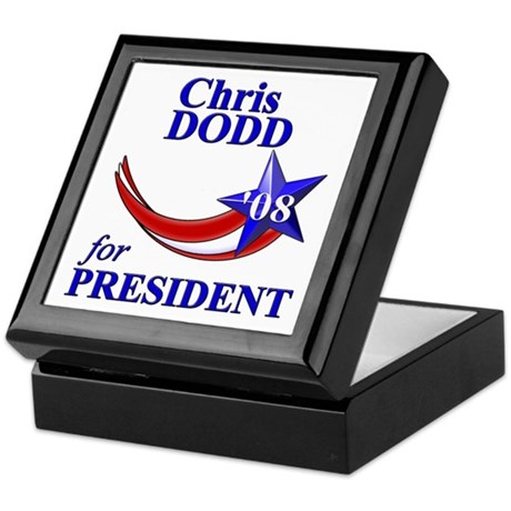 Chris Dodd for President Keepsake Box