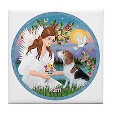 3-ORN-Angel2-Rusti-Profile copy Tile Coaster
