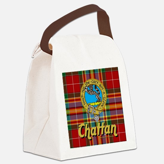 chat13.5x13.5-a Canvas Lunch Bag