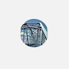 Blue Bridge 1 Mini Button