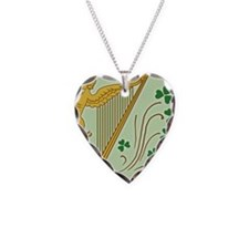 ireland-harp_j Necklace Heart Charm