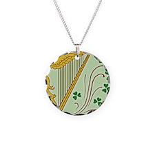 ireland-harp_j Necklace Circle Charm