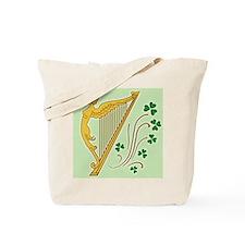 ireland-harp_j Tote Bag