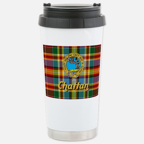 chat4.5x2.5ovalhat Stainless Steel Travel Mug