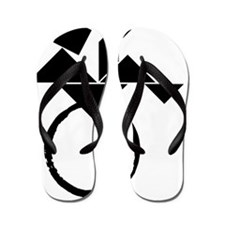 BJ cafe press logo_large Flip Flops