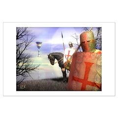 Knight Templar #2 Posters