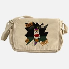 DaneHarlequinHalloweenShirt2 Messenger Bag