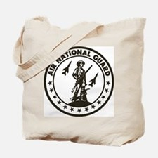 ANG-Minuteman-Patch-Midnight-Blue Tote Bag