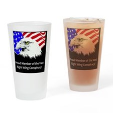 aavasteagle_flagds Drinking Glass