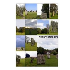 Avebury2_9x12_text Postcards (Package of 8)