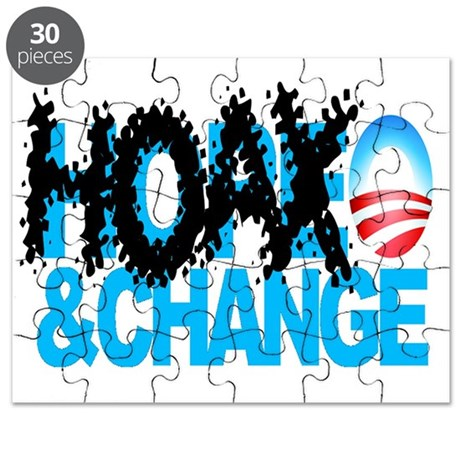 Hoax-and-Change-No-Hope-and-Change Puzzle