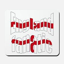 England fanatic Mousepad