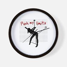 Push my limits Wall Clock