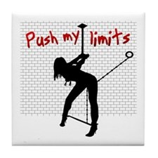 Push my limits Tile Coaster
