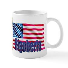 Rigoberto American Flag Gift Mug