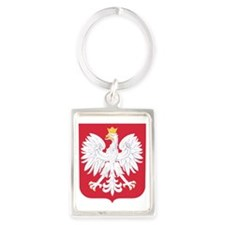 Poland Portrait Keychain