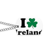 i_love_ireland Dog Tags