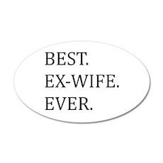 Best Ex-wife Ever Wall Sticker