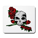Rose Skull Mousepad
