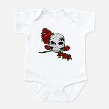 Rose Skull Infant Bodysuit