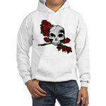 Rose Skull Hooded Sweatshirt
