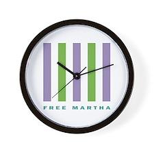 Free Martha Wall Clock