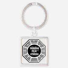 Dharma Films 4 Square Keychain