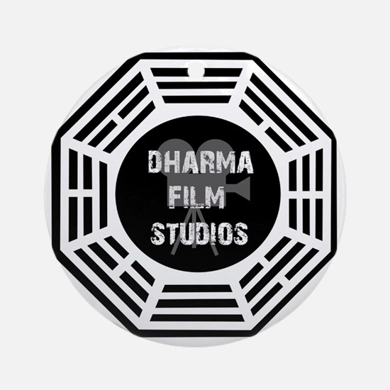 Dharma Films 4 Round Ornament