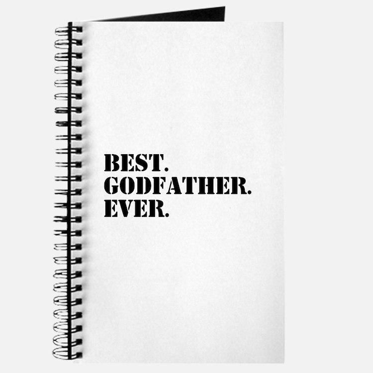 Best Godfather Ever Journal