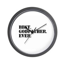 Best Godfather Ever Wall Clock