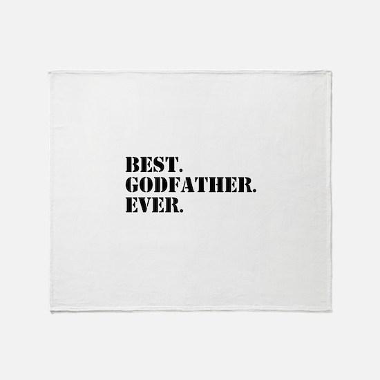 Best Godfather Ever Throw Blanket
