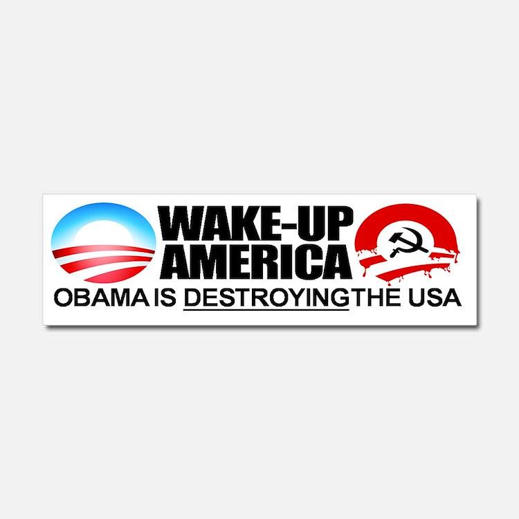 communist-anti-obama-2012-antiob Car Magnet 10 x 3