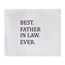 Best Father-in-law Ever Throw Blanket
