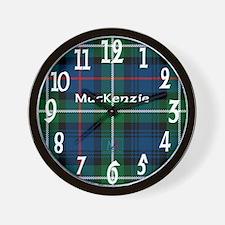 MacKenzie Clan Wall Clock