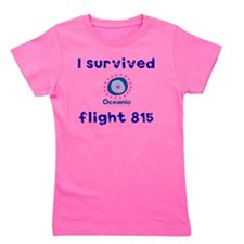 i survived oceanic airlines flight 815 Girl's Tee