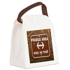 Fragile4by4 Canvas Lunch Bag