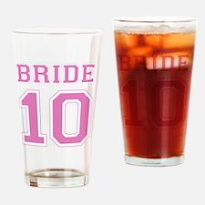 bride101 Drinking Glass
